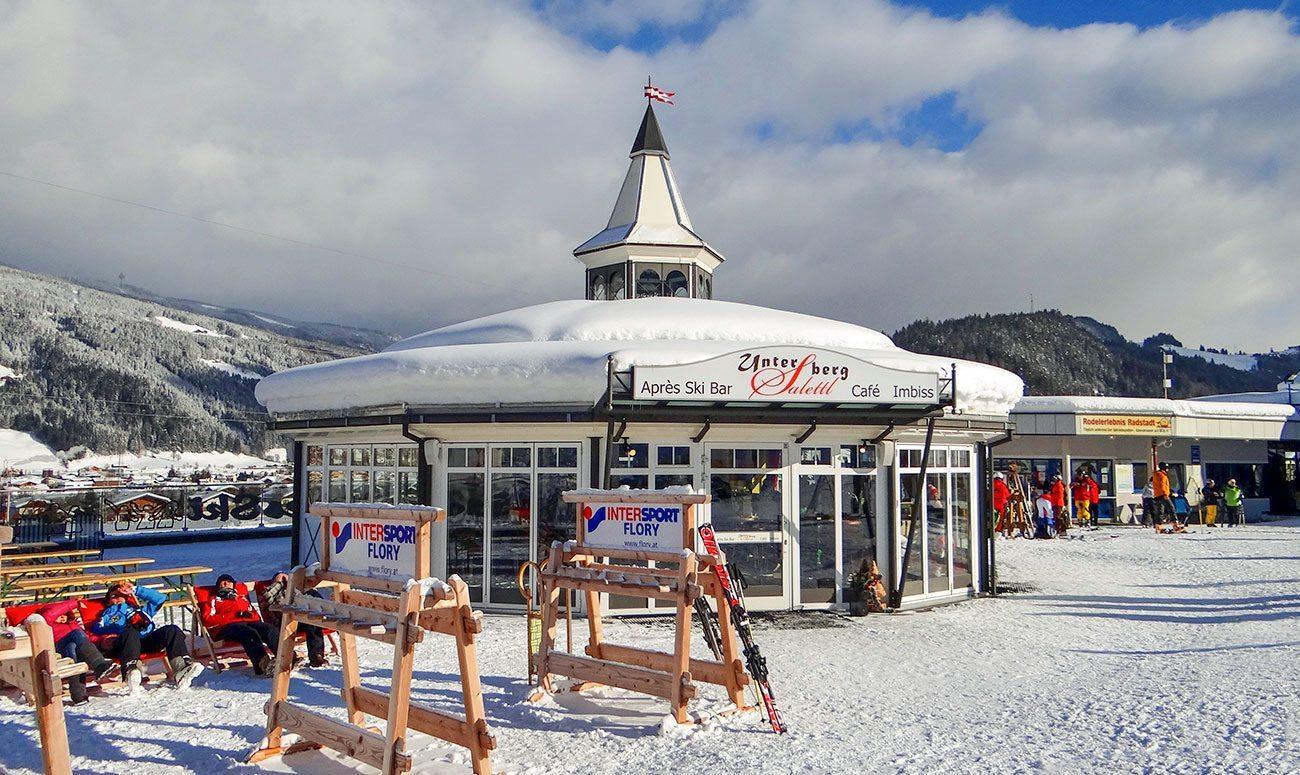 Après-Ski Bar in Radstadt, Unterberg Salettl